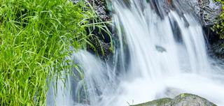 川床の風景